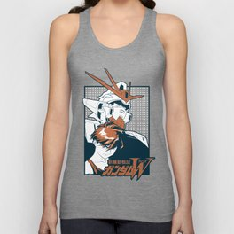 Mobile suit gundam wing Unisex Tank Top