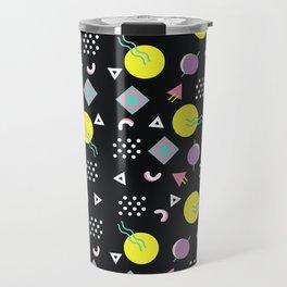90's geometry Travel Mug