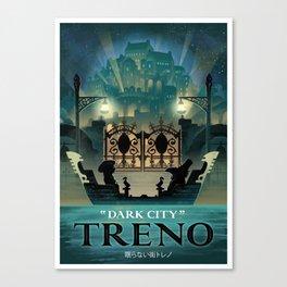 Final Fantasy IX - Treno Canvas Print