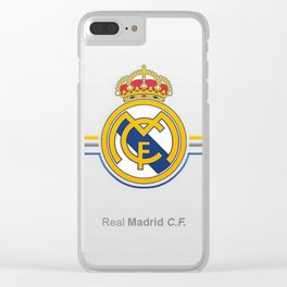 real madrid cf Clear iPhone Case
