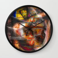lantern Wall Clocks featuring Lantern by John Hansen