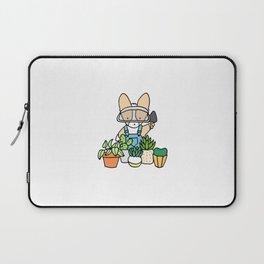 Corgi Garden Succulents Laptop Sleeve