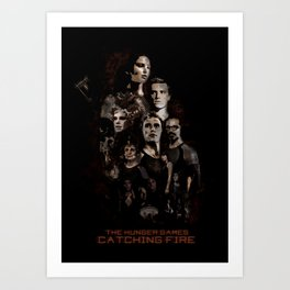 Catching Fire Art Print