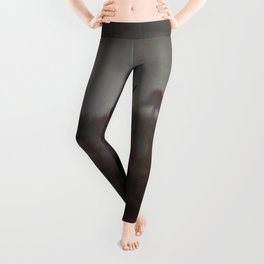 Silhouette Of A Highland Stag Leggings