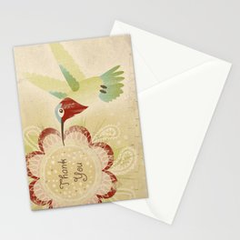 Hummingbird Thank You Card Stationery Cards