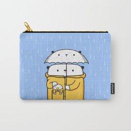 Opi y Kipi en la lluvia Carry-All Pouch