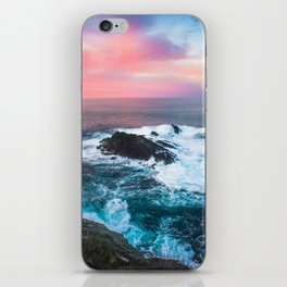 Sunset on the Bay of Biscay iPhone Skin