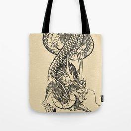 Vector Dragon Tote Bag