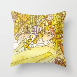 Eno River #31 Throw Pillow