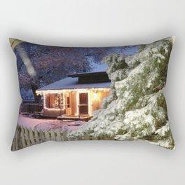 Winter Beauty Rectangular Pillow