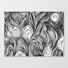 Outgrowth of Beauty Canvas Print