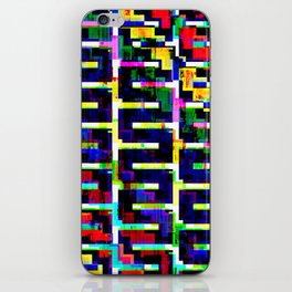 Rainbow Snake no.2 iPhone Skin