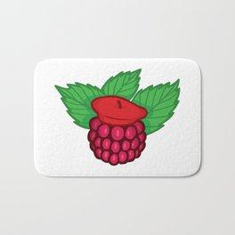 Raspberry Beret Bath Mat