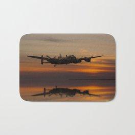 Lancaster Bomber Landfall Bath Mat