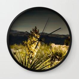 Super Bloom 7452 Paradise Joshua Tree Wall Clock