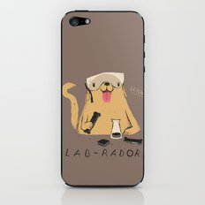 lab-rador iPhone & iPod Skin