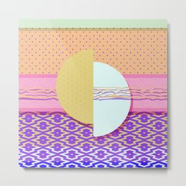 Japanese Patterns 05 Metal Print