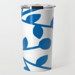 Blueberry Fields Forever - White Edition Travel Mug