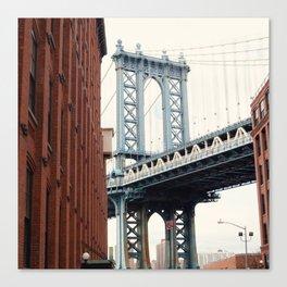 Manhattan Bridge from Dumbo Canvas Print