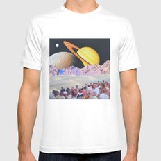 Welcome to the New World Mens Fitted Tee White MEDIUM