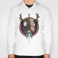 warcraft Hoodies featuring Lions! Make You Brave by Emily Anne Daugherty