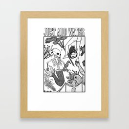 H20! Just Add Water Framed Art Print