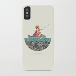 Gone fishing iPhone Case