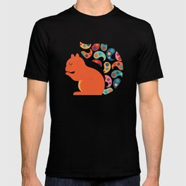 Paisley Squirrel T-shirt
