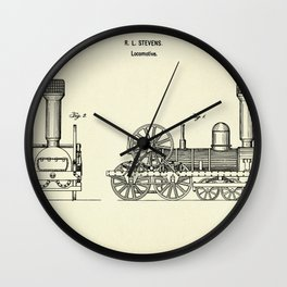 Locomotive-1842 Wall Clock