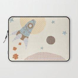 spaceship collage Laptop Sleeve