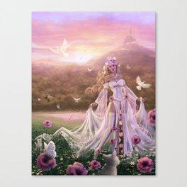 Light Sorceress Canvas Print