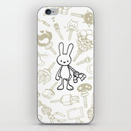 minima - beta bunny / gear iPhone Skin