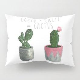 Cactu + Cacti = Cactus Pillow Sham