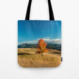 Simple Fall Tree Tote Bag