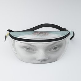 A girl who lived in a cloud Fanny Pack