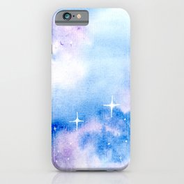 Second Star to the Right - Galaxy iPhone Case