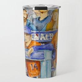 AJ Hinch  – Astros Manager Travel Mug