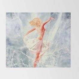 Naiad IV Throw Blanket