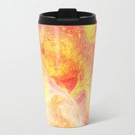 Abstract lava Travel Mug