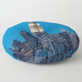 Empire State Floor Pillow