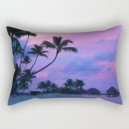 Tahitian Sunset Rectangular Pillow