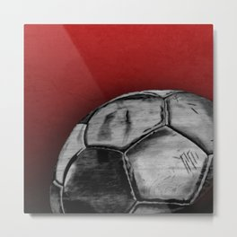 Soccer Days Metal Print