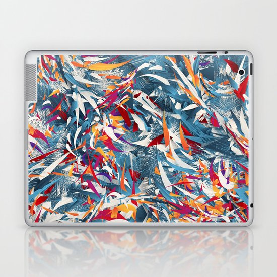 Excited Colours Laptop & iPad Skin