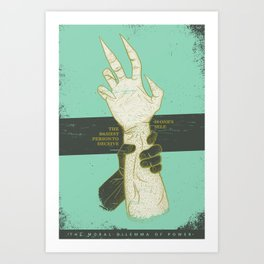 SHAPESHIFTING Art Print