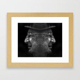 opposite  Framed Art Print