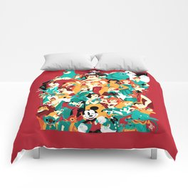 Mouse House Heroes Comforters