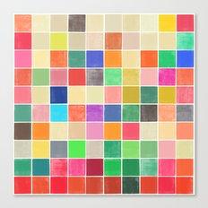 colorquilt 2 Canvas Print