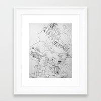 key Framed Art Prints featuring Key by ℳajd