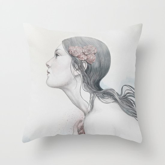 Adoration Throw Pillow