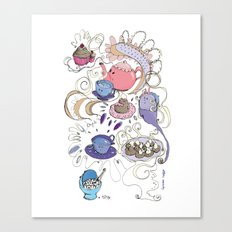 Little tea Canvas Print